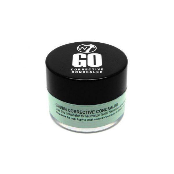 W7 Cosmetics Go Corrective Concealer - GREEN