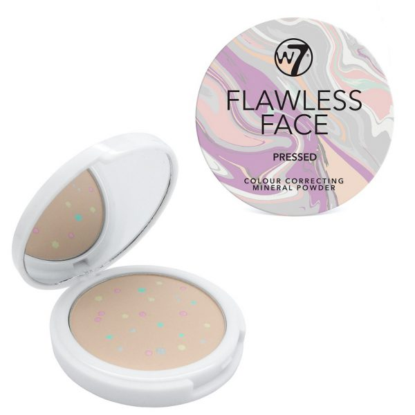 W7 Flawless Face Pressed Mineral Powder 3
