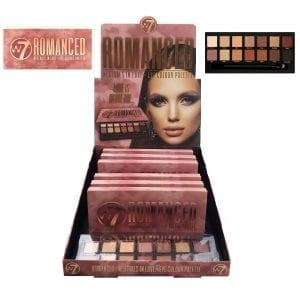 W7 Romanced Eyeshadow TRAY