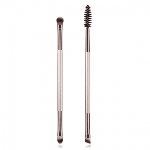 2pcs dark silver eye brush set
