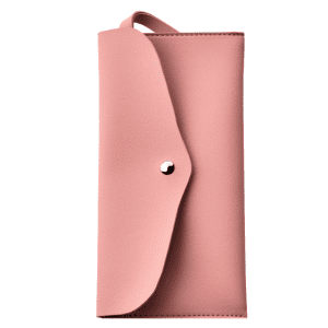 Article Leather Makeup Bag - Nude Pink