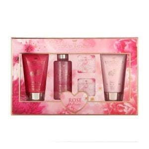 Grace Cole Rose & Peony Flourish 5pcs Gift Set