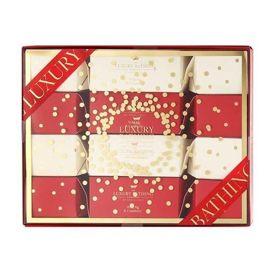 Grace Cole Wild Fig & Cranberry Luminous Luxuries 4pcs Gift Set