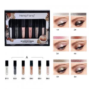 Heng Fang 6pcs Liquid Glitter Eyeshadow A