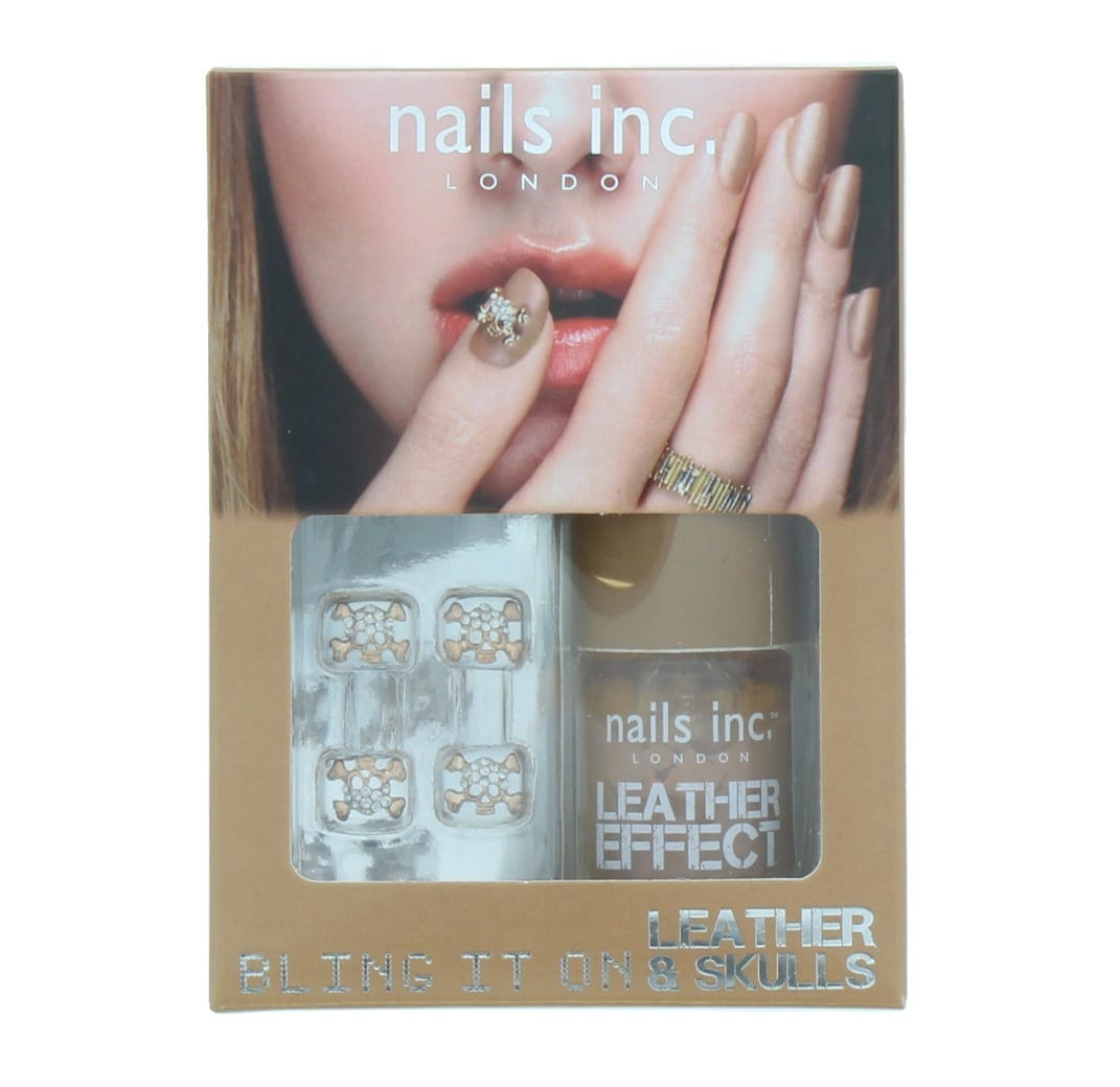 Nails Inc London Bling It On Leather & Skulls Nail Polish