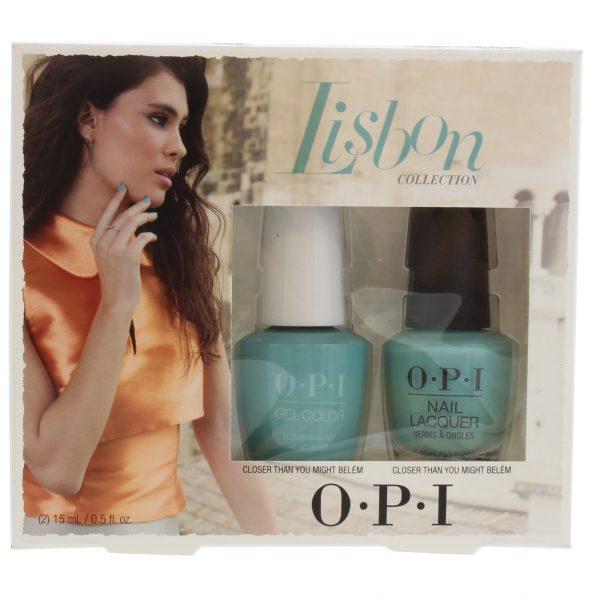 OPI Nail Polish Duo Lisbon Collection - Closer Than You Might Belém