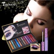 Teayason 12pcs Lip & Eye Liquid Glitter 3
