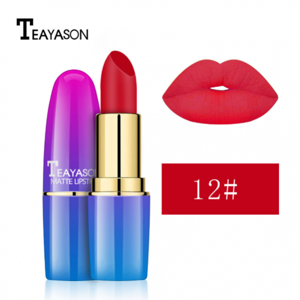 Teayason Matte Lipstick - #12
