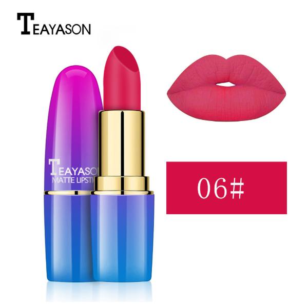 Teayason Matte Lipstick - #6