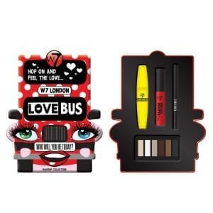 W7 Love Bus Collection 2