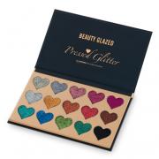 Beauty Blazed 15 Colours Heart Glitter Palette 1