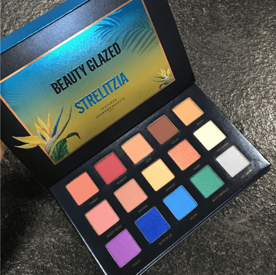 Beauty Blazed Strelitzia 15 Colours Eyeshadow Palette