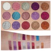 Beauty Glazed 15 Colours Glitter Eyeshadow 12