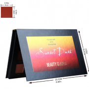 Beauty Glazed 15 Colours Sunset Dust Eyeshadow Palette 2