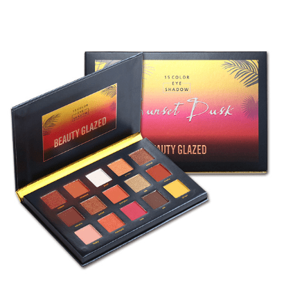 Beauty Glazed 15 Colours Sunset Dust Eyeshadow Palette