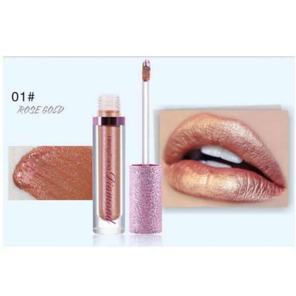 Heng Fang Long-Lasting Lip Gloss Liquid Eyeshadow 01