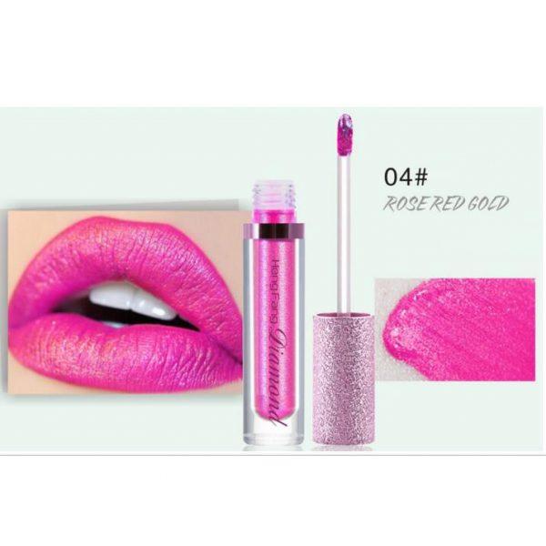 Heng Fang Long-Lasting Lip Gloss Liquid Eyeshadow 04
