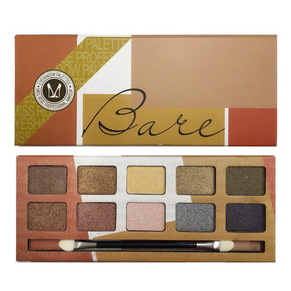 Miss Rose 10 Colours Eyeshadow Plette 01 Shimmer 2
