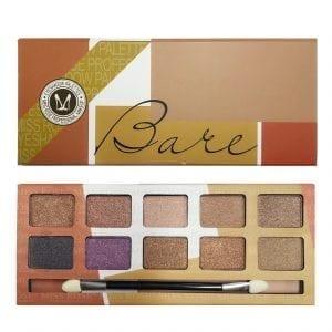 Miss Rose 10 Colours Eyeshadow Plette 02 Shimmer 2