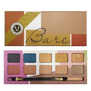 Miss Rose 10 Colours Eyeshadow Plette 03 Shimmer 2