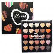 PopFeel 25 Colours Heart Eyeshadow Palette 01 1