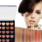 PopFeel 25 Colours Heart Eyeshadow Palette 01 2