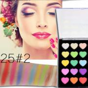 PopFeel 25 Colours Heart Eyeshadow Palette 02 2