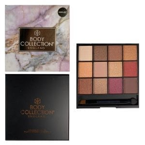 Body Collection Merlot Eyeshadow Palette 3