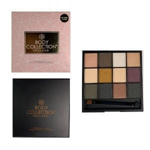 Body Collection Natural Nudes Eyeshadow Palette 4