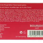 Bourjois Rough Velvet 5pcs Liquid Lipsticks 2