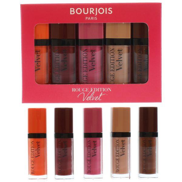 Bourjois Rough Velvet 5pcs Liquid Lipsticks 3