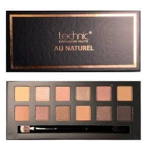 Technic Eyeshadow Palette - Au Naturel