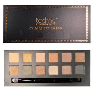Technic Eyeshadow Palette - Claim To Fame