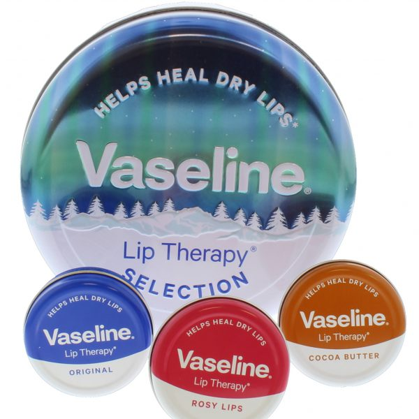 Vaseline Original Selection Lip Tin 3 Piece Gift Set