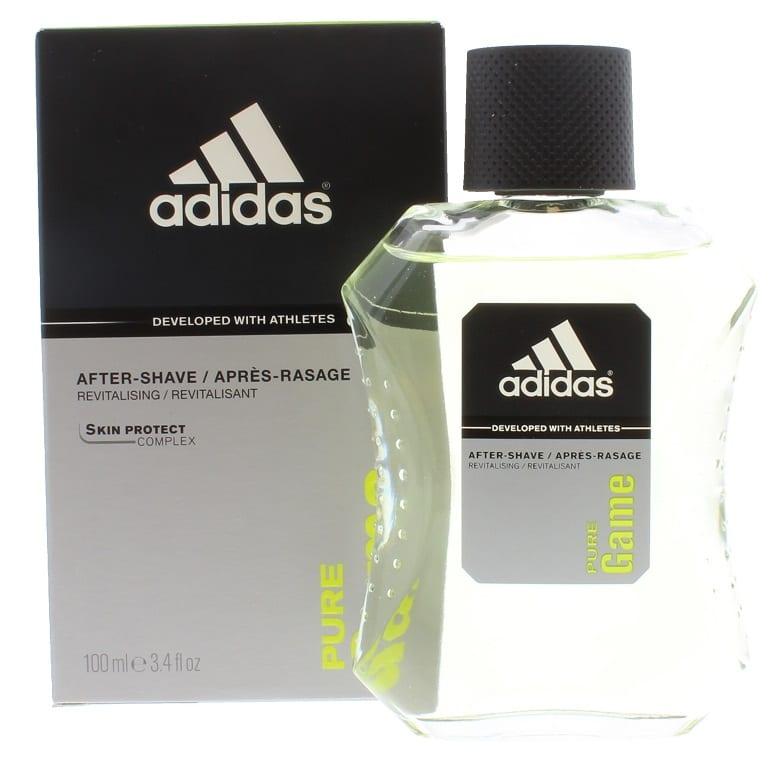 Absolutamente Metropolitano Meloso  Adidas Aftershave 100ml Pure Game - Colour Zone Cosmetics