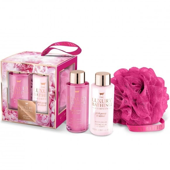 Graceful Pink Peony Gift Set