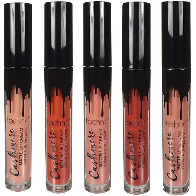 Technic Cashmere Matte Lip Cream (various shades) - Colour